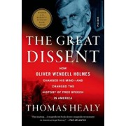 The Great Dissent: How Oliver Wendell Holmes Changed His Mind--And Changed the History of Free Speech in America, Paperback/Thomas Healy