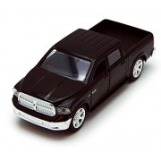 Dodge Ram 1500 Pickup Truck, Black Jada Toys Just Trucks 97015 1/32 Scale Diecast Model Toy Car