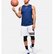 Under Armour Herentanktop SC30™ Basketball - Mens - Blue - Grootte: Medium
