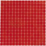 Mozaiektegel Amsterdam Red Soft Grain Glass 322x322