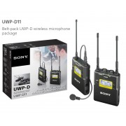 Sony UWP-D11/K51 Camera-Mount Wireless Omni Lavalier Microphone System (CE51: 710.025 MHz to 782.000