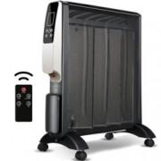 Конвектор Rohnson Mica R-075, 2 степени на мощност, дисплей с електронно управление и дистанционно, 2000W, черен