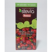 TR Stevia 04. Erdei gyümölcsös étcsokoládé hozzáadott cukor nélkül 125 g