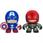 Marvel the Avengers Mini Muggs Captain America and Red Skull Figures