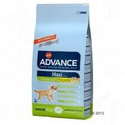 Advance Maxi Junior con pollo - 14 + 1 kg ¡gratis!