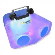 Beamz Nomia Clear dual Moonflower efecto de luz 114 RGBAW LEDs mando a distancia IR (153.397)