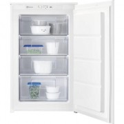 Congelator incorporabil Elecrolux LUB3AE88S, 98 l, LowFrost, Control electronic, Clasa A++, H 87 cm, Alb