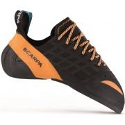 Scarpa Instinct Lace - scarpette da arrampicata - uomo - Black/Orange