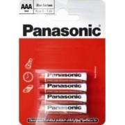 Panasonic baterii r03 aaa zinc carbon 4 buc la blister