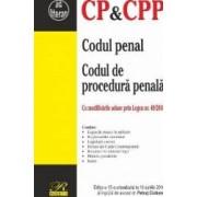 Codul penal. Codul de procedura penala Ed.15 Act. 16 Aprilie 2018