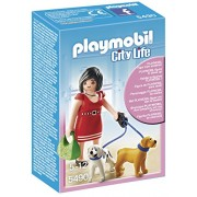 PLAYMOBIL Woman Puppies with Playset