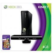 Microsoft Xbox 360 4GB Console + Kinect game consoles (Xbox 360, Black)