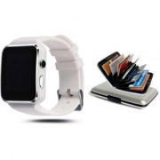 Style Maniac X6 Bluetooth Smart Watch Compatible With Android and IOS Devices Smartwatch 6 Multicolor ATM Plastic Card