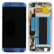 Samsung Galaxy S7 Edge LCD + Touchscreen - Blauw voor Samsung Galaxy S7 Edge SM-G935F