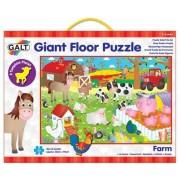 Puzzle podea mare Galt - la fermă, 30 buc