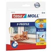 tesa SE tesamoll® 05395 P-Profil Gummidichtung 10m : 9mm