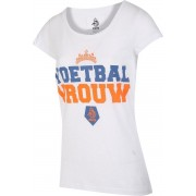 KNVB - Nederlands Elftal - Leeuwinnen T-shirt Dames - Voetbal Vrouwen - Blanco - Wit-M