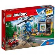 Set de constructie LEGO Juniors Urmarire pe Munte