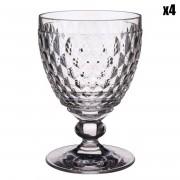 Villeroy & Boch 4 Verres à vin rouge transparents - 31 cl