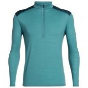 Icebreaker - Amplify L/S Half Zip - T-shirt technique taille L;M;S;XL;XXL, turquoise