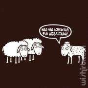 T-shirt Fui Assaltada