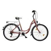 Koliken Sweet Bike 26 városi kerékpár rózsa