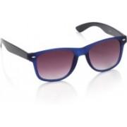 Joe Black Wayfarer Sunglasses(Violet)