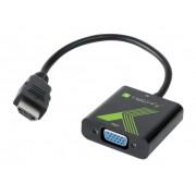 Cavo Convertitore Adattatore da HDMI a VGA con Audio