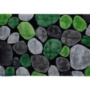 Tempo Kondela, Koberec, PEBBLE TYP 1, zelená/sivá/čierna, 170x240