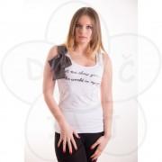 Ženska majica sa mašnom