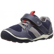 Stride Rite Boys' SRT WES Casual Sneaker, Navy, 6 XW US Toddler
