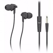 Stylish Universal Headset U-17 Stereo Dynamic Sound Universal Perfume Earphone for All Android Model - Black colour