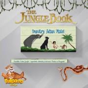Invitaţie pentru botez delicioasă cu tema Cartea Junglei