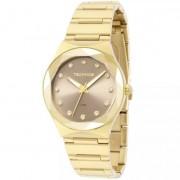 Relógio Technos Feminino Elegance Crystal Swarovski 2035MFH/4C