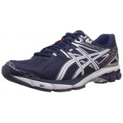 ASICS Men's Gt-1000 3 Midnight, White and Red Mesh Running Shoes - 6 UK