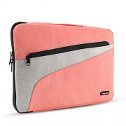 Drop-proof Laptop Sleeve - 13-13.3 inch MacBook Air - MacBook Pro - iPad Pro 12.9, Chromebook Tablet Apple Lenovo Dell HP Pouch 360° Protective Tablet Carrying Case Bag Cover, Spill-Resistant - Pink