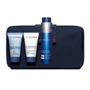 Coffret gel rosto 50ml + esfoliante 30ml + shampoo 30ml bolsa - Clarins