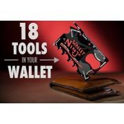 Unealta Universala Tip Card Pentru Portofel Wallet Ninja 18 in 1