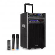 "Auna Pro DisGo Box, DVD преносима PA система, 300 W макс., 2 x 10 "" woofer, DVD, BT (PAS5_Disgobox DVD)"