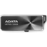 Stick USB A-DATA DashDrive Elite UE700, 128GB, USB 3.0 (Gri metalic)