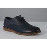 Pantof barbat casual LEOFEX cod 842 blue