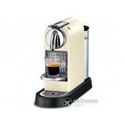 Cafetieră cu capsule Nespresso-Delonghi EN 166.CW CitiZ, alb-crem