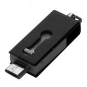 OTG micro USB / unidades flash USB para telefono / tablet PC - negro (32 GB)