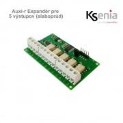Ksenia Auxi-r Expandér pre 5 výstupov (slaboprúd)