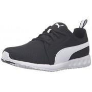PUMA Men s Carson Mesh Running Shoe Puma Black/Puma White 7.5 D(M) US
