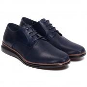 Pantofi barbati Virgilio cu aspect texturat, Bleumarin 43