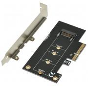 Adapter, MAKKI M2 SSD to PCI Express 3.0 4x adapter (MAKKI-M2-PCIE-VE1)