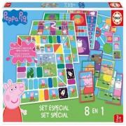 EDUCA Borrás - Peppa Pig - Set 8 en 1