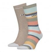 Levis 2PACK ponožky Levis vícebarevné (903026001 014) M