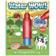 Carte colorat apă magică - Ferma animalelor
